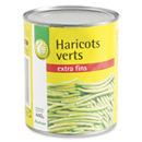 Pouce Haricots verts extra fins 440g