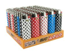 BIC J26 POCKET LIGHTER AST 807976 PK50