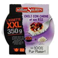 William Saurin Assiette XXL Chili Con Carne 350g