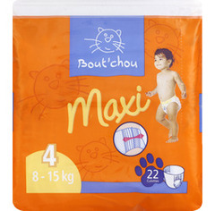 Couches culottes, Maxi 4, 8-15kg