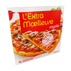 Pizza royale extra moelleuse