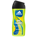 Adidas gel douche get ready 250ml