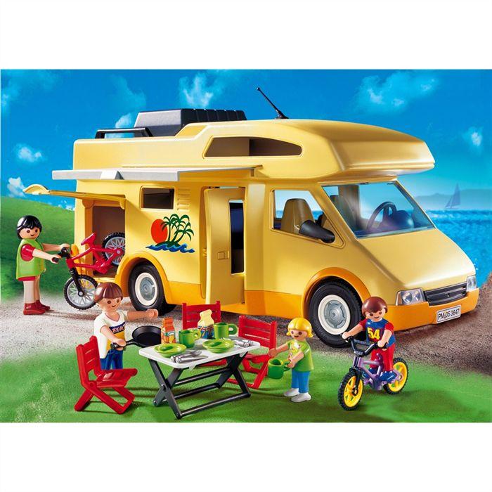Playmobil summer fun collector camping car 3647 4 10ans - Camping car playmobil pas cher ...