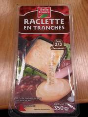 Fromage à raclette tr.28%MG Bq 350g