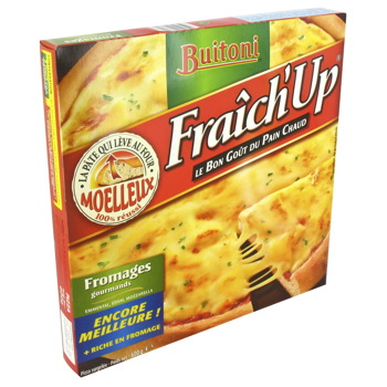 Pizza Fraich'Up Buitoni Fromage 600g