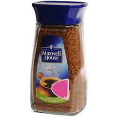 Cafe qualite Maxwell House Decafeine filtre bocal 200g