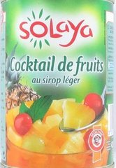 1/2 cocktail de fruits au sirop leger, La boite 400G