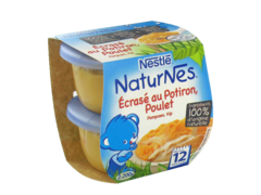 NaturNes - Ecrase au potiron,Poulet Ingredients 100% d'origine naturelle