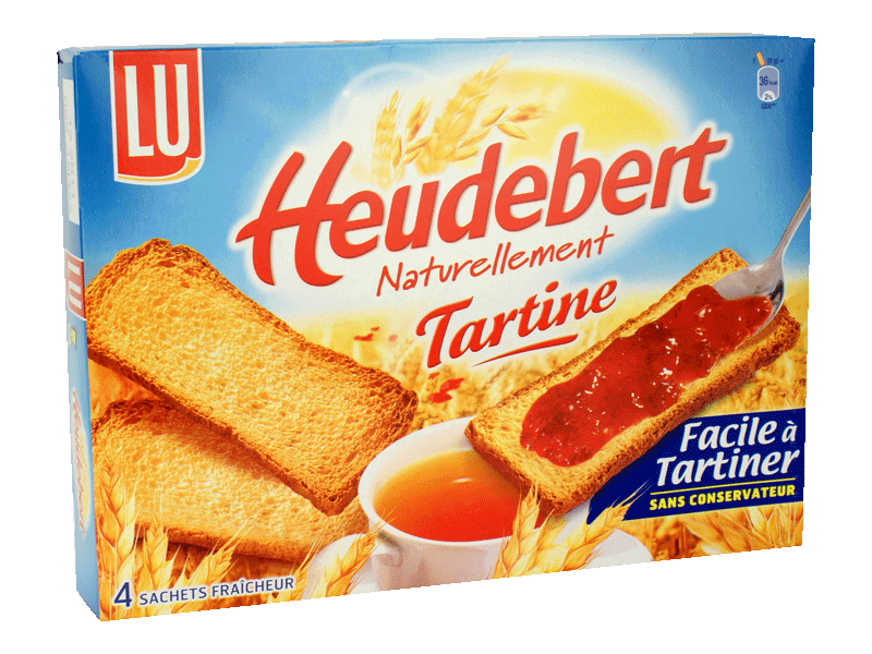 Heudebert tartines 325g