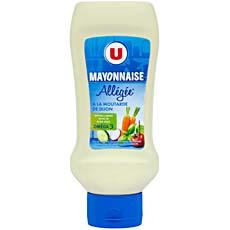 Mayonnaise allegee U flacon souple 455g