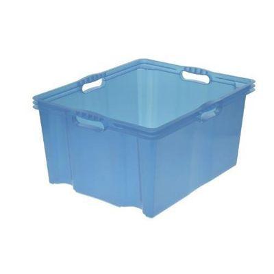 boite de rangement bleu tous les produits boites rangements prixing. Black Bedroom Furniture Sets. Home Design Ideas