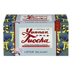 The Yunnan Tuocha Au lotus 40g