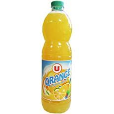 U Boisson aux fruits a l'orange U, 2l