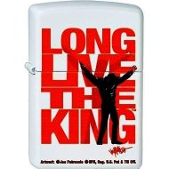 Zippo 2.003.091 Cigarette Lighter Elvis Long Live The King Collection 2013 Matte White