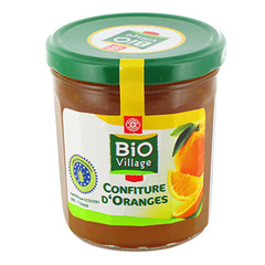 Confiture Bio Village Extra Oranges 375g