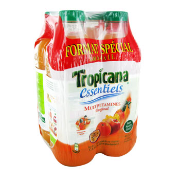 Tropicana essentiels multivitamines 4x1l