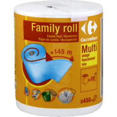 Essuie-tout multi-usage, + 145m, Family Roll
