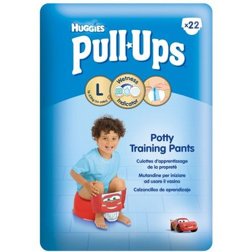 Couches Huggies Pull-ups Economy - garçon taille L x22