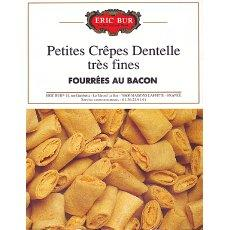 Crepes dentelle au bacon ERIC BUR, 125g