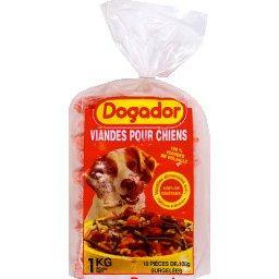 Dogador viandes pour chien le sachet de 1kg tous les produits p t e prixing - Produit pour empecher les chiens d uriner ...