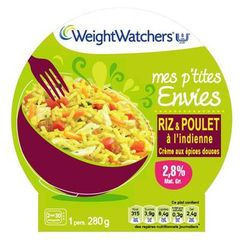 Riz et poulet a l'Indienne WEIGHT WATCHERS, 280g