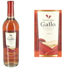 Gallo Family Vin rosee Californien