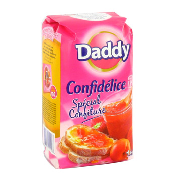 Sucre special confitures Confidelice DADDY, 1kg