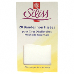 Bandes de cire froide Siliss Recharge 2x14