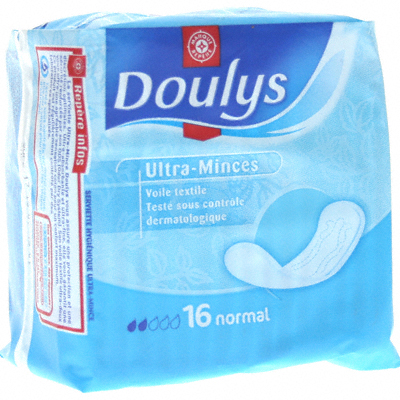 Serviettes Doulys ultra-minces Normal x16