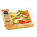 Tarte fine poulet fromage italien tomates roquette pesto MIX BUFFET, 160G