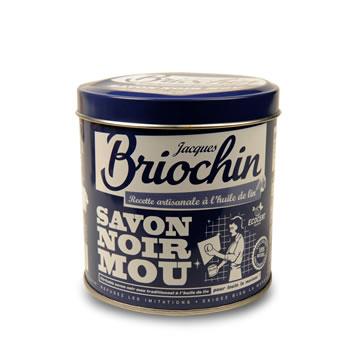 jacques briochin savon noir mou boite metal pot 600g. Black Bedroom Furniture Sets. Home Design Ideas
