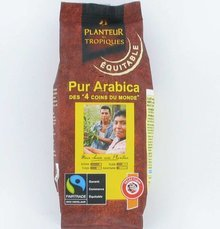 Selection du monde, cafe pur arabica moulu, le paquet, 250g