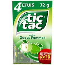 Tic Tac duo pomme t4 72g