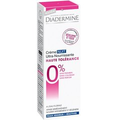Creme de nuit ultra nourrissante Haute Tolerance DIADERMINE, 50ml