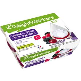 produit inactif weight watchers fromage blanc sur fruits rouges 4x100g tous les produits. Black Bedroom Furniture Sets. Home Design Ideas