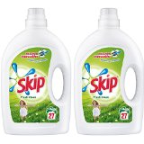 SKIP Fresh Clean Lessive Liquide 27 Lavages 1,89 L - Lot de 2
