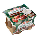 Andros liegeois de fruits pomme chataigne 4x100g