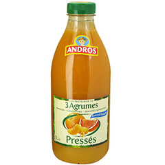 Jus 3 agrumes presse Andros 1l