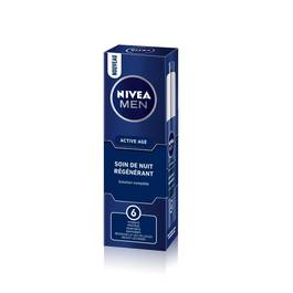 Soin de nuit Active Age NIVEA FOR MEN, tube de 50ml