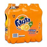 Soda Fanta orange Pet Play 6x1,5L