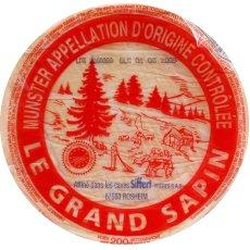 Munster grand sapin 11cm 27%MG lait pasteurise