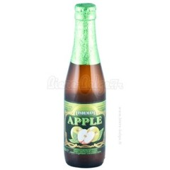 Biere aromatisee a la pomme LINDEMAS Apple, 3.5°, 25cl
