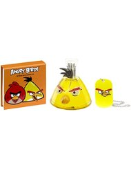 ANGRY BIRDS Coffret Cadeau Yellow Bird Eau de Toilette 50 ml + Bloc Notes + Collier