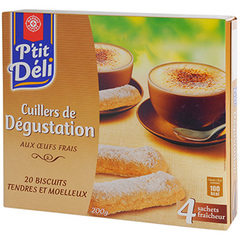 Biscuits cuillers P'tit deli Degustation 200g