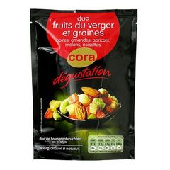 Duo fruits du verger et graines