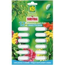 batonnets insecticides et nutritifs kb 12 unites tous les produits sport et activit s de. Black Bedroom Furniture Sets. Home Design Ideas