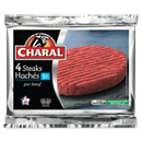 Charal steaks hachés 5% 4x100g