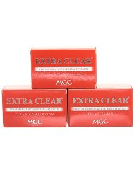 MGC Savon Extra Clear Rouge 100 g - Lot de 3
