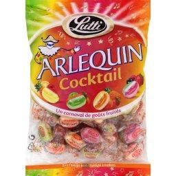 Bonbons acidules Arlequins Cocktail LUTTI, 320g