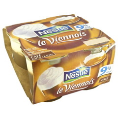 Viennois cafe Nestle 4x100g